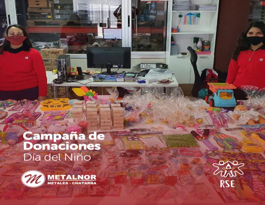 """Campaña de Donaciones """"Día del Niño"""""""